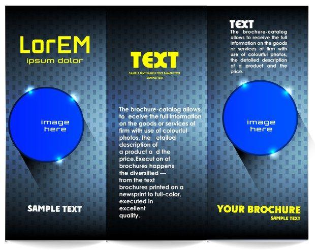 electronics brochure stationary templates pinterest brochures