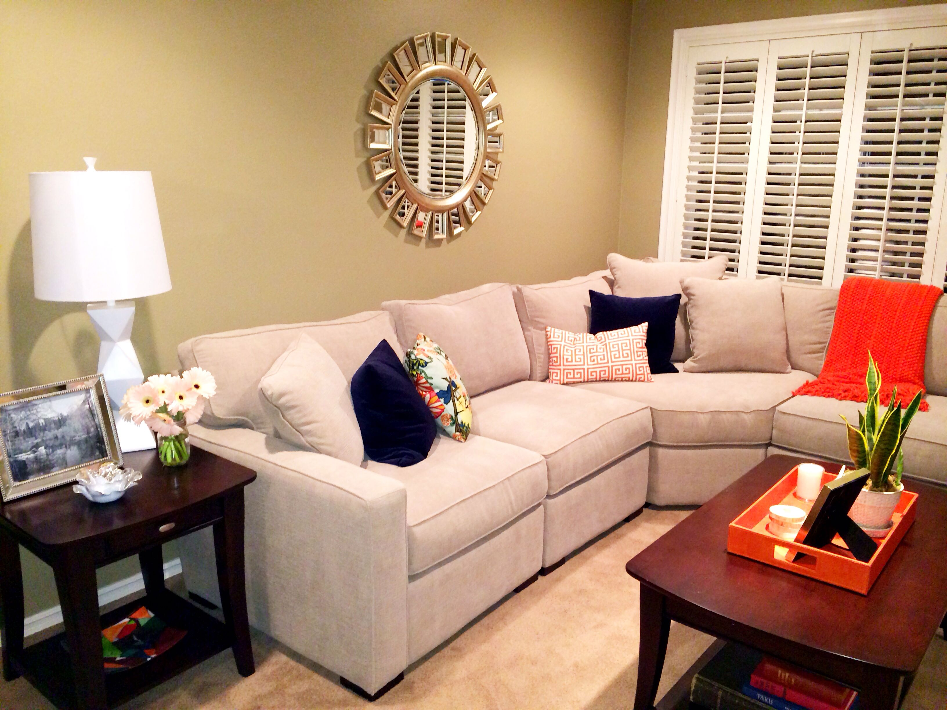 Living room in progress radley sectional sofa from macy39s for Radley sectional sofa macy s