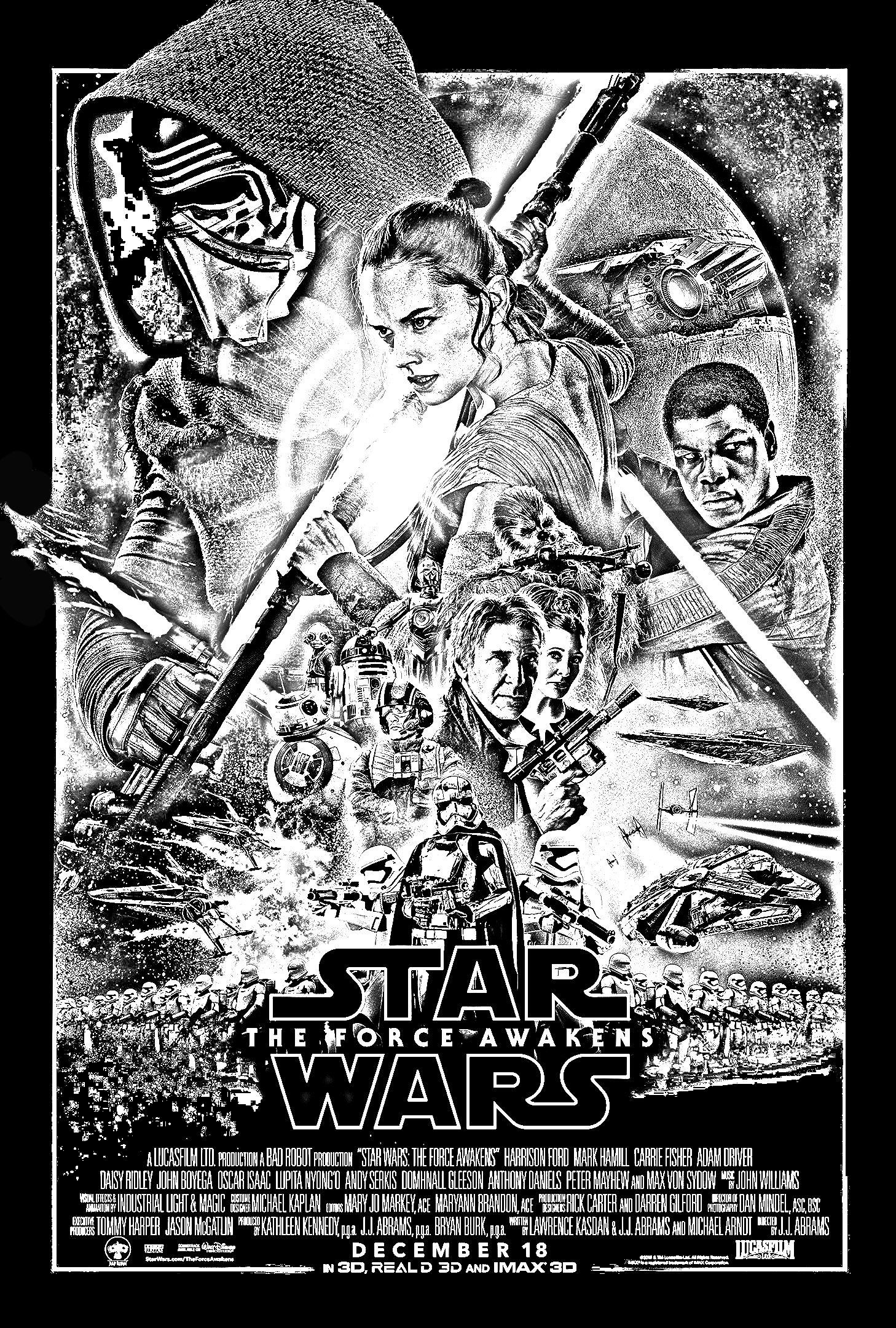 Free coloring page coloringadultstarwarstheforce