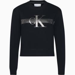 Photo of Calvin Klein Sweatshirt mit Xs Calvin Klein Metallic Logo