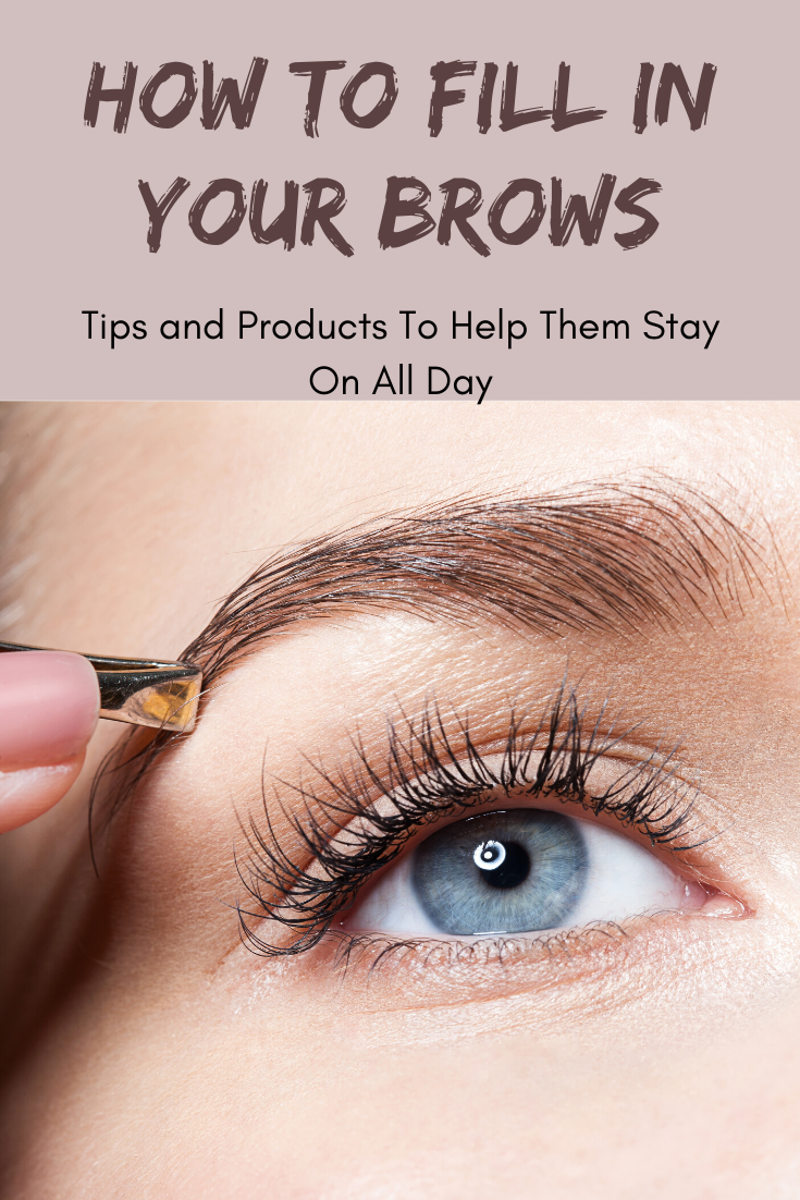 How to apply eyebrow makeup for a natural, thick brow look