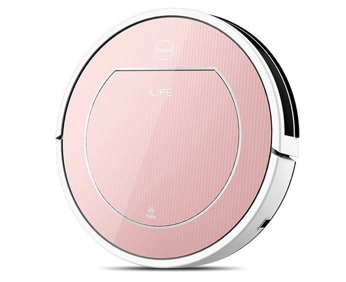 ILIFE V7S Smart Robotic Vacuum Cleaner Intelligent Automatic Wet Dry Sweeping #ILIFE