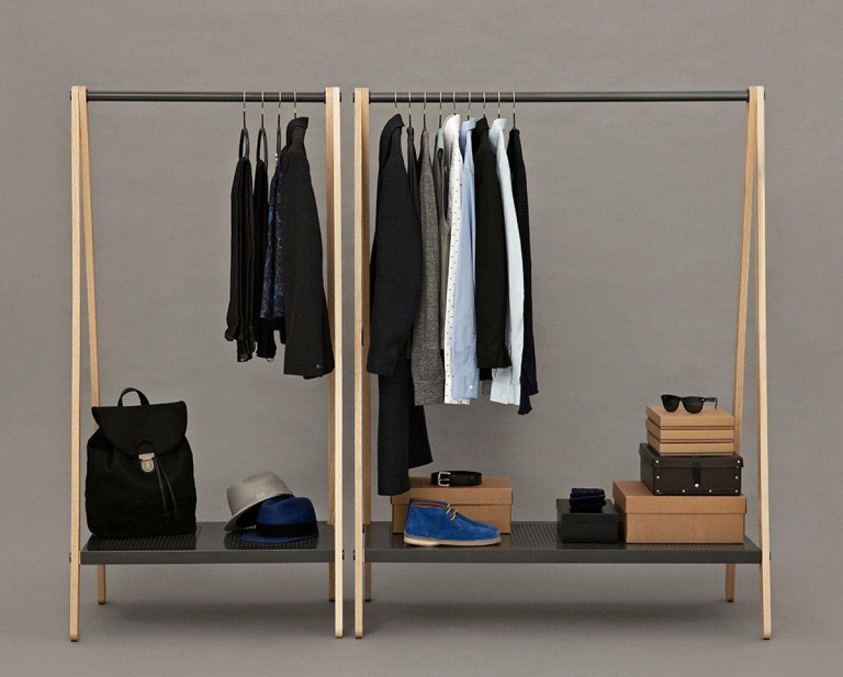 Kleiderstange – und wie man sie inszeniert: Standfest: Kleiderstange ...