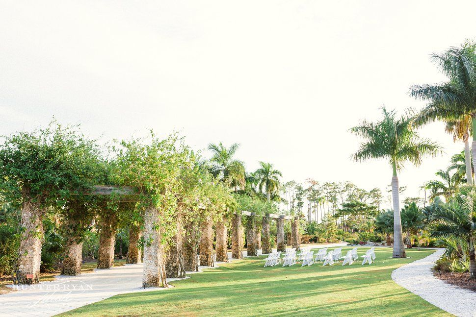 Naples Botanical Garden Wedding Wedding at The Inn on