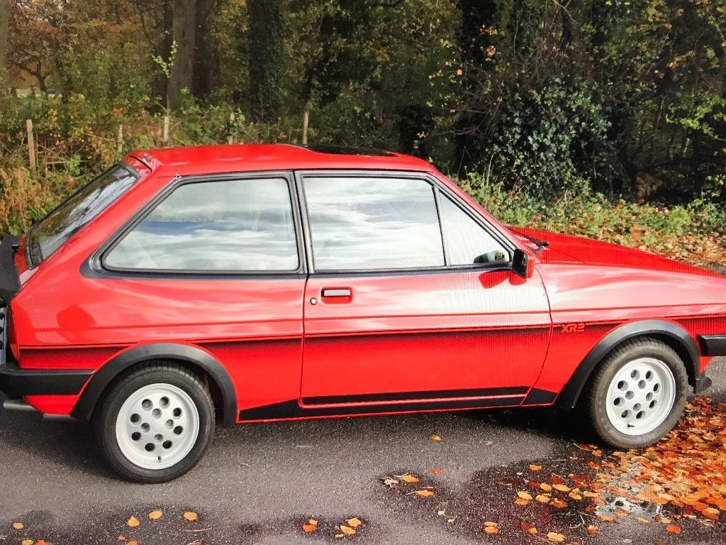 Ford Fiesta Xr2 Mark 1 Ford Fiesta Ford Classic Cars