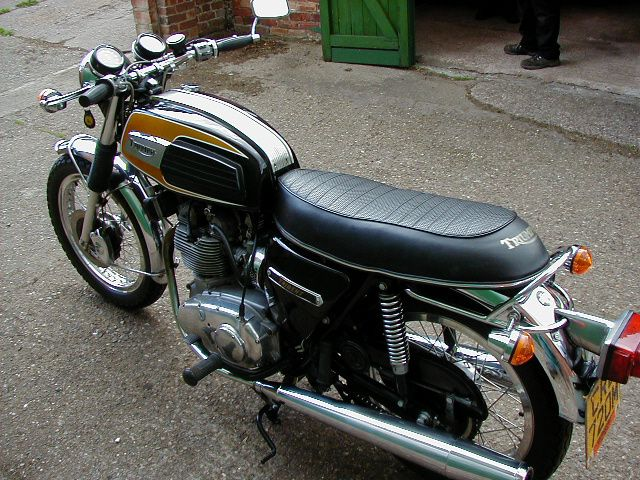 Triumph Trident T150V Bought after my divorce as a
