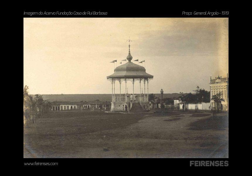 Praça General Argolo (atual Marechal Deodoro) 1919 - Acervo da Casa de Rui Barbosa