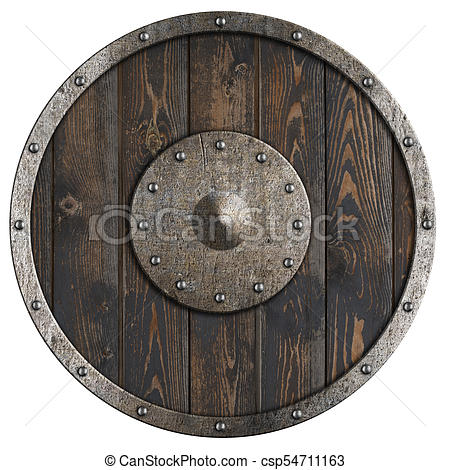 Google Image Result For Https Comps Canstockphoto Com Old Wooden Vikings Shield Isolated 3d Stock Image Csp54711163 Jpg I 2020
