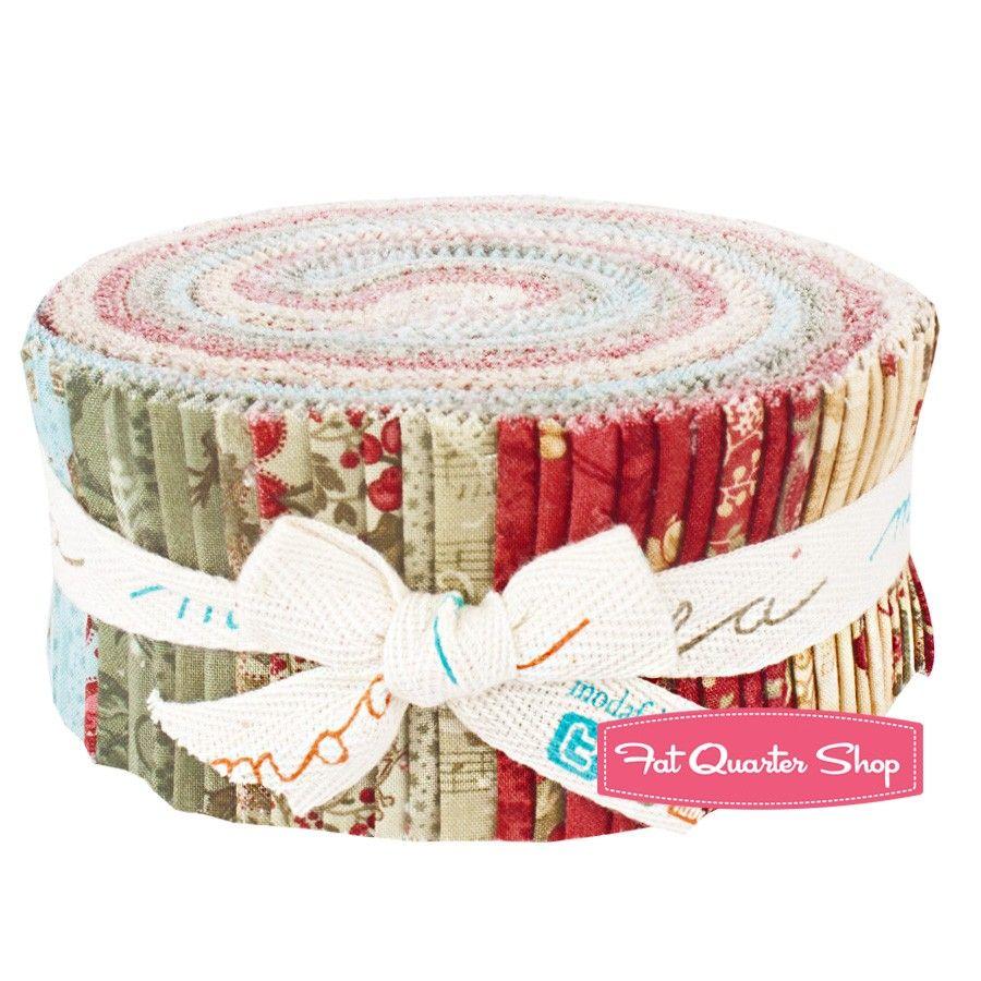 Winterlude Jelly Roll<BR>3 Sisters for Moda Fabrics