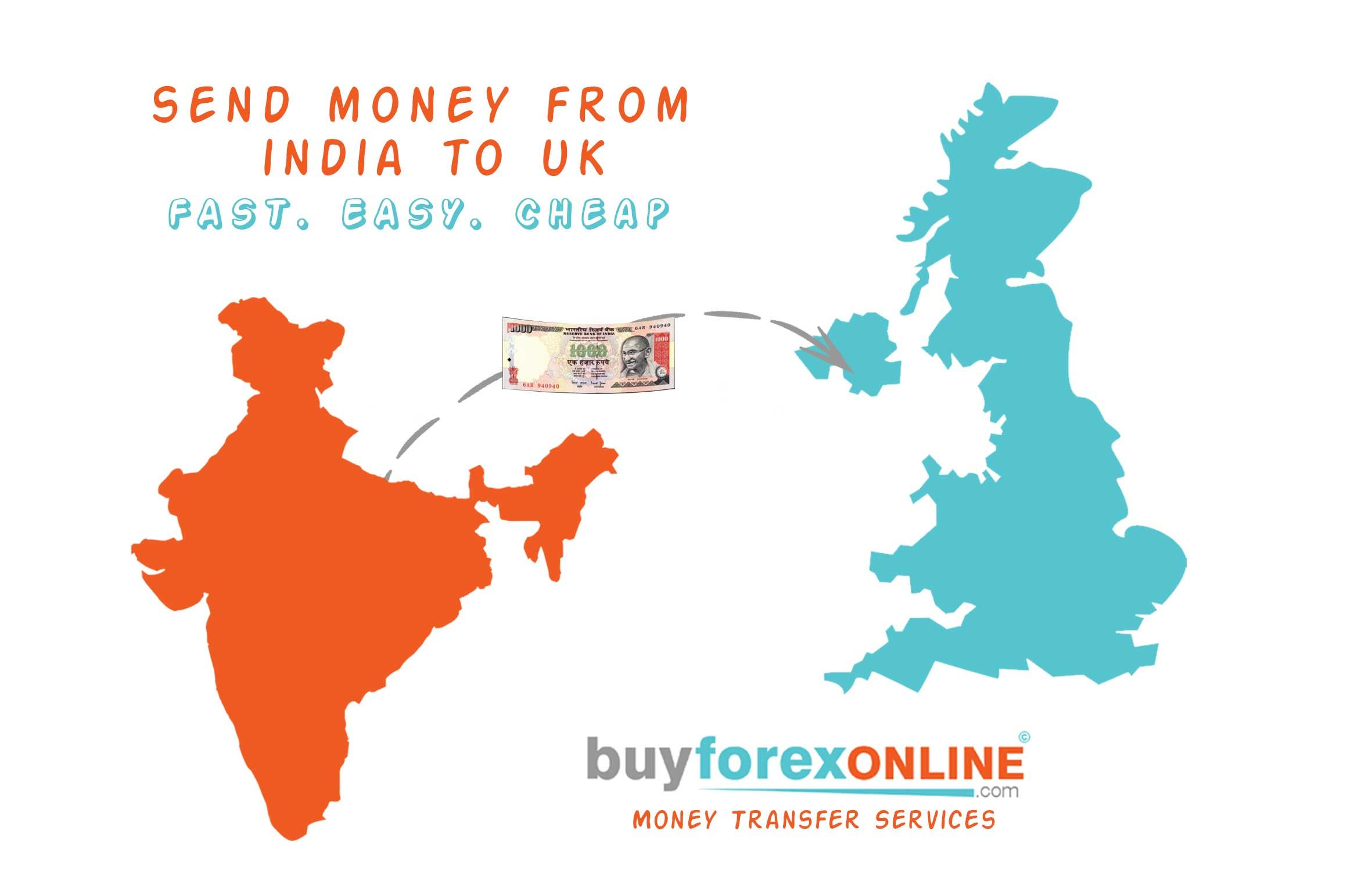 Avail The Best Send Money Service To Uk With Just A Clicks They Offer Instant Services Online