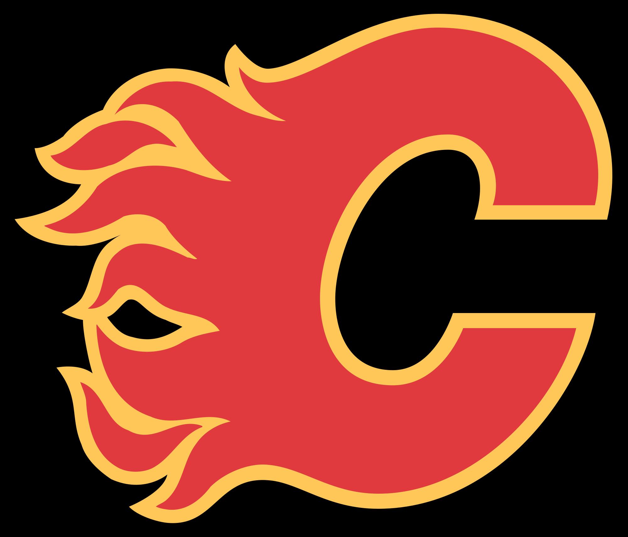 Nhl Calgary Flames Logo Wallpaper Flames Hockey Calgary Flames Nhl Logos