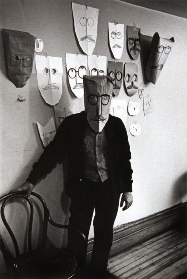 SAUL STEINBERG, MANHATTAN, 1959