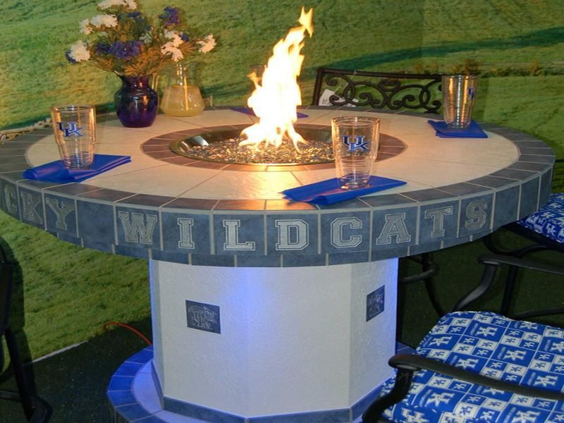 DIY Gas Fire Pit Table | Image Above, Is Segment Of How To Build Outdoor  Propane Fire Pit .