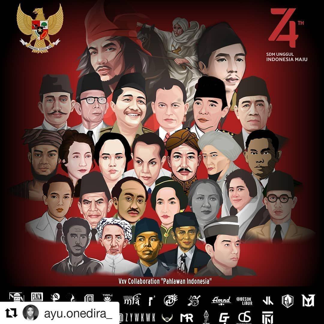 Gambar Foto Pahlawan Indonesia
