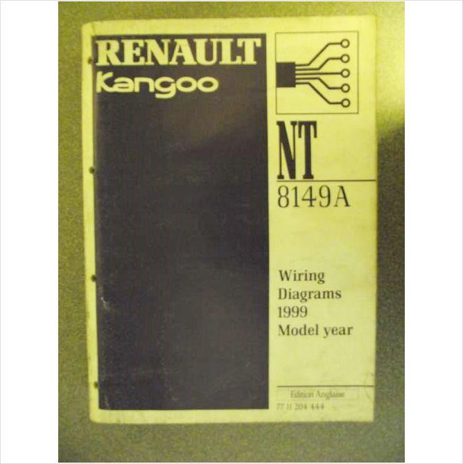 Electric Wiring Diagram Renault Kangoo Manual