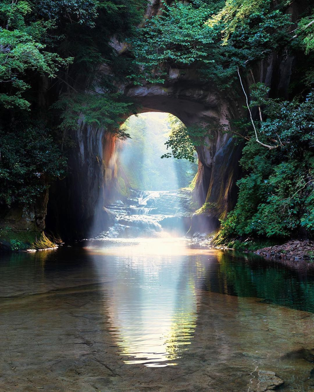 Vacations Travel Nature On Instagram Peaceful Nature Spot Kameiwa Cave Chiba Japan Photo Nature Photography Beautiful Landscapes Nature Inspiration