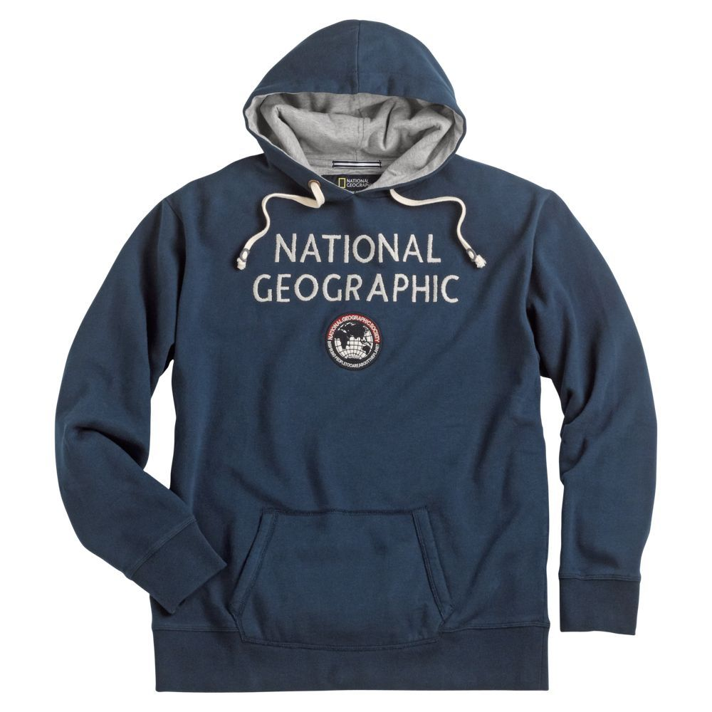 db1143ddaf2 National Geographic Logo Hoodie | National Geographic Store ...