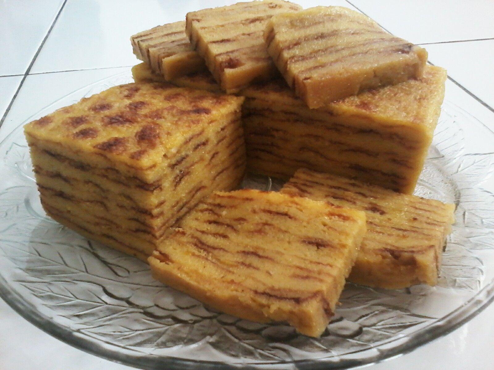Kue Maksuba Asal Palembang Yang Serupa Dengan Kue Lapis Legit Makanan Manis Kue Lapis Makanan