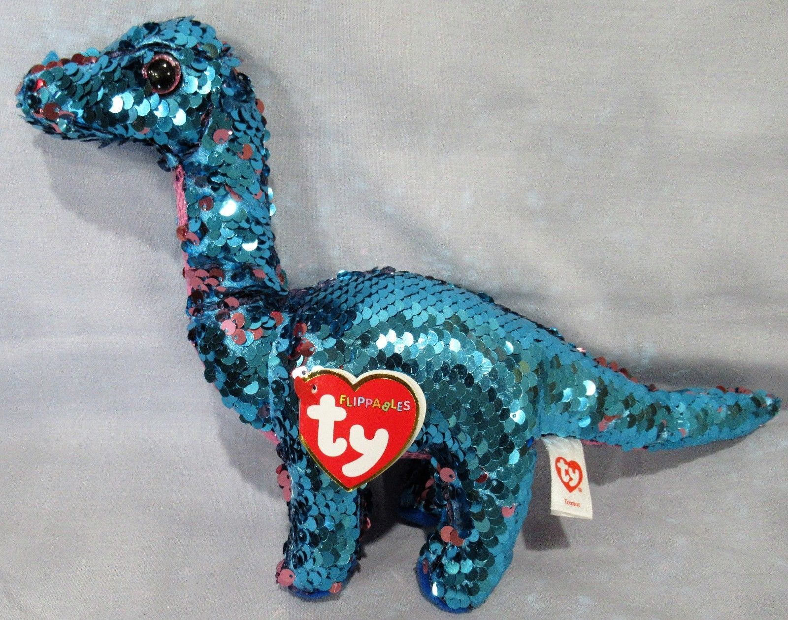 Current 438  Tremor - Dinosaur - Ty Flippables Sequin Beanie 6 Boos - New  With Mint Tags -  BUY IT NOW ONLY   19.5 on  eBay  current  tremor   dinosaur ... 6db415e508b8