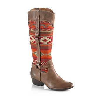 "Product: Sofft® ""Porter"" Southwestern Style Boot - Mocha"