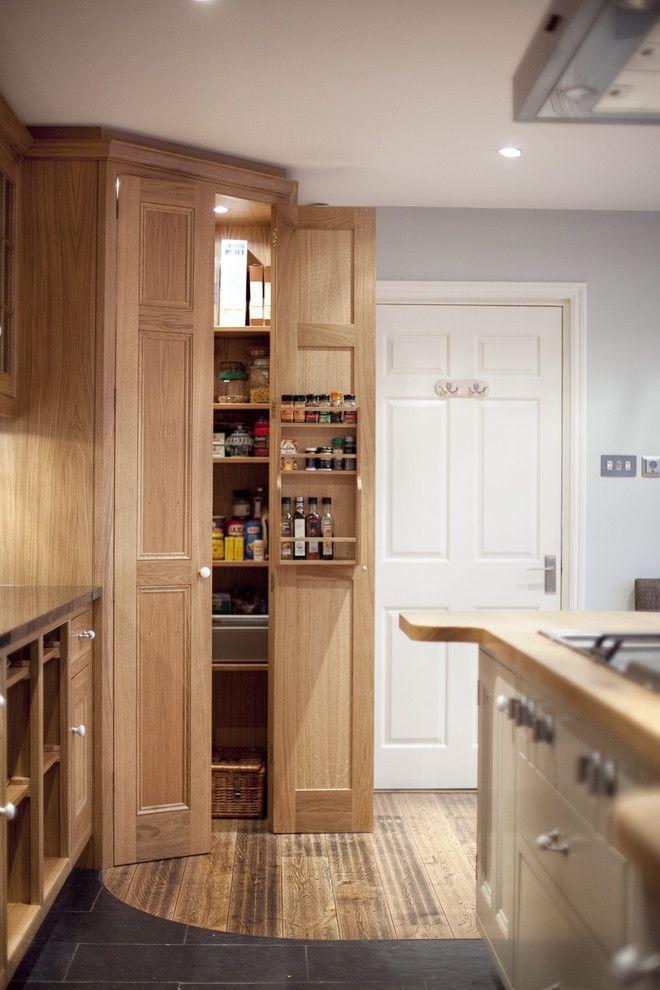 Kitchen Cabinets Corner Pantry with Best Photos of Unfinished Corner ...