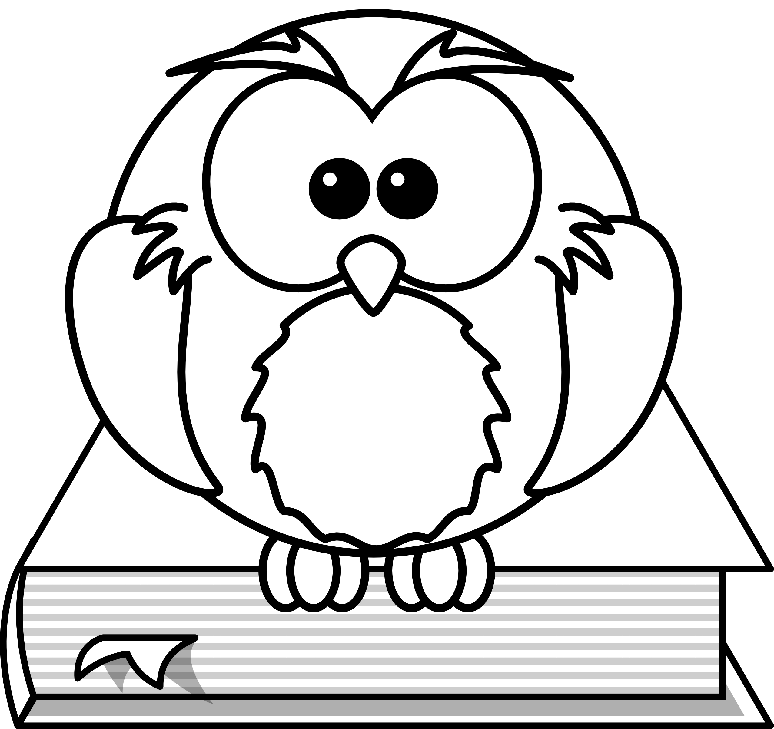 How To Draw A Wise Owl