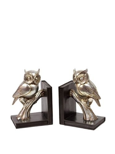 Set of 2 Owl Bookends, Gold by Urban Trends Collection, http://www.amazon.com/dp/B0090VQTPU/ref=cm_sw_r_pi_dp_Li.qsb158CM41