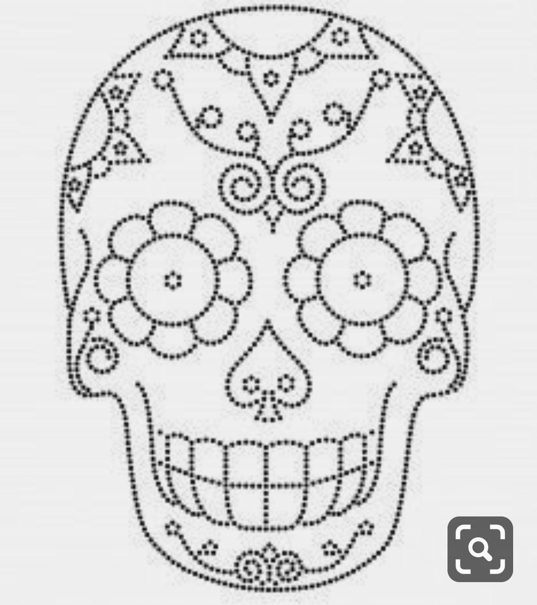 Calaveras Patrones De Bordado Patrones Bordado Mexicano Patrones