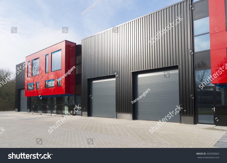 Denekamp Netherlands February 13 2016 Modern Exterior Of A
