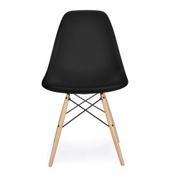 Awesome Plastic · Eames® Molded Plastic Dowel Leg Side Chair ...