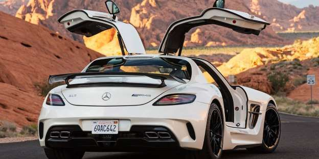 Here\u0027s Why More Cars Don\u0027t Have Gullwing Doors & Here\u0027s Why More Cars Don\u0027t Have Gullwing Doors | Doors Mercedes ...