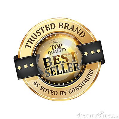 Trusted Brand Best Seller Shiny Icon Label Badge Trusted Brands Brand Business Stamps
