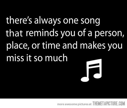 There's always a song… #musicsongs