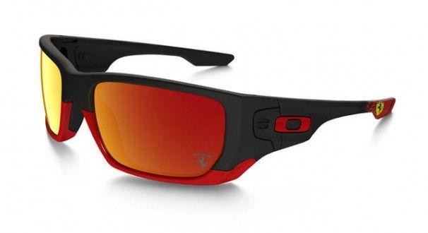 Oakley Holbrook Ducati Matte Black L Ruby Iridium