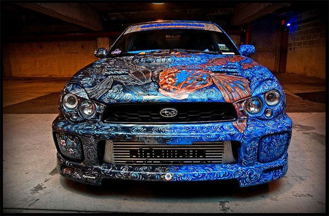 Car Paint Jobs Candy Paint Metal Flake Temperature Change
