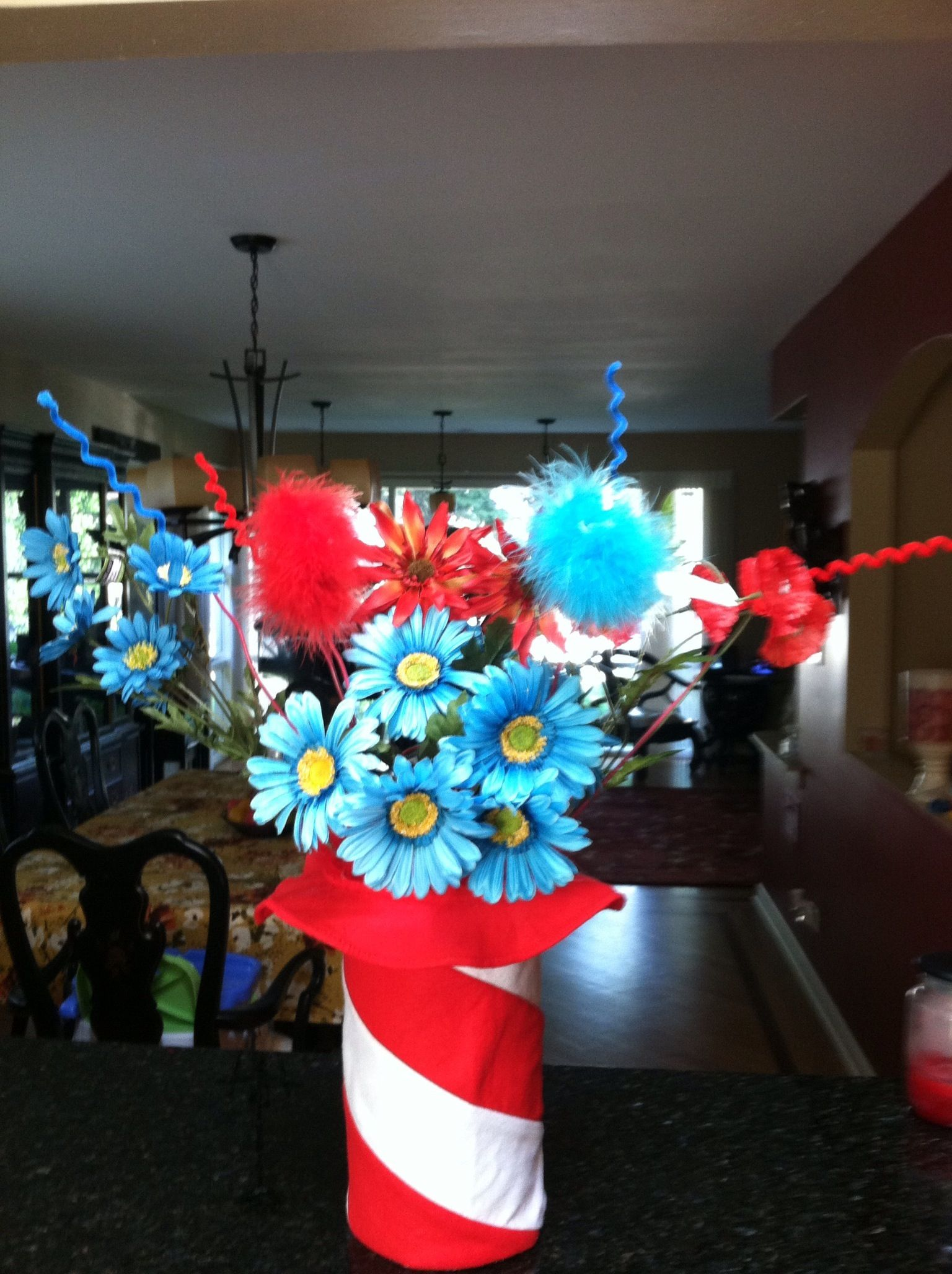 Dr Seuss Thing 1 and Thing 2 Baby Shower