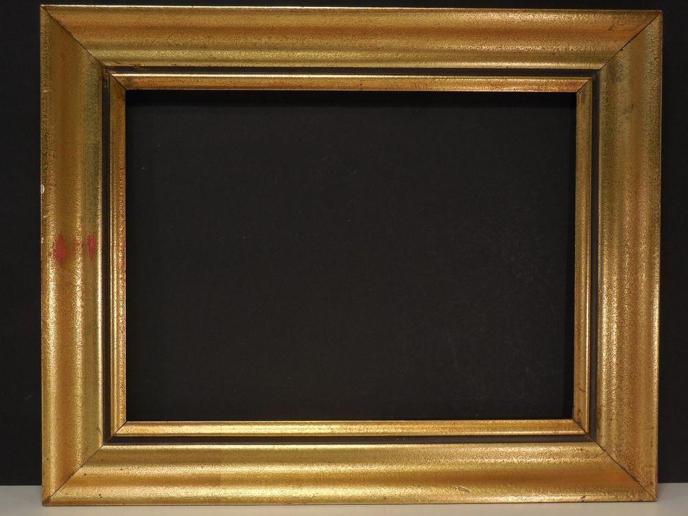 Rahmen antik Holz Gold Berliner Leiste 51,5 x41 x4cm Bilderrahmen ...