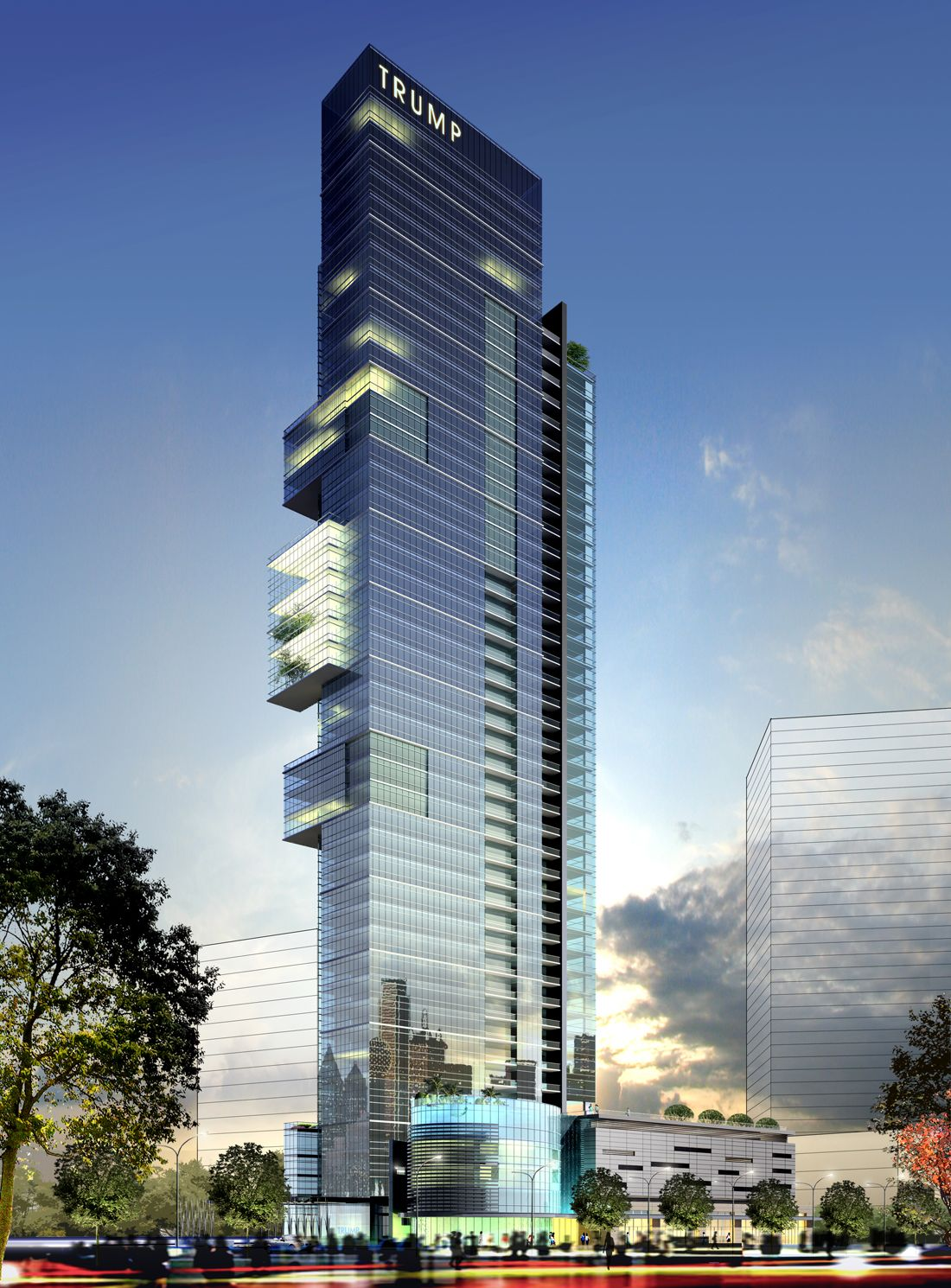 Trump Tower Dallas Was Planned With 51 Floors Of Condos