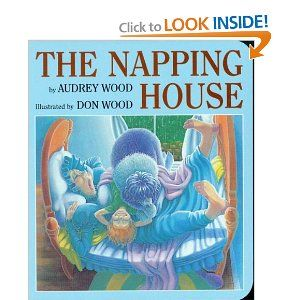 """The Napping House.  I love reading this book for """"tired day"""" during our emotions theme"""