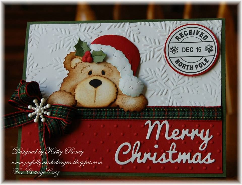 CCX079 Cottage Cutz Expressions Collection Merry Christmas 4 – Sample Christmas List