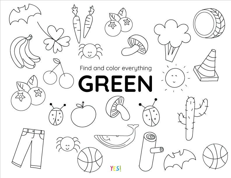 - Printable Coloring Pages Of Colors - YES! We Made This In 2020 Printable Coloring  Pages, Free Printable Coloring Pages, Free Preschool Worksheets