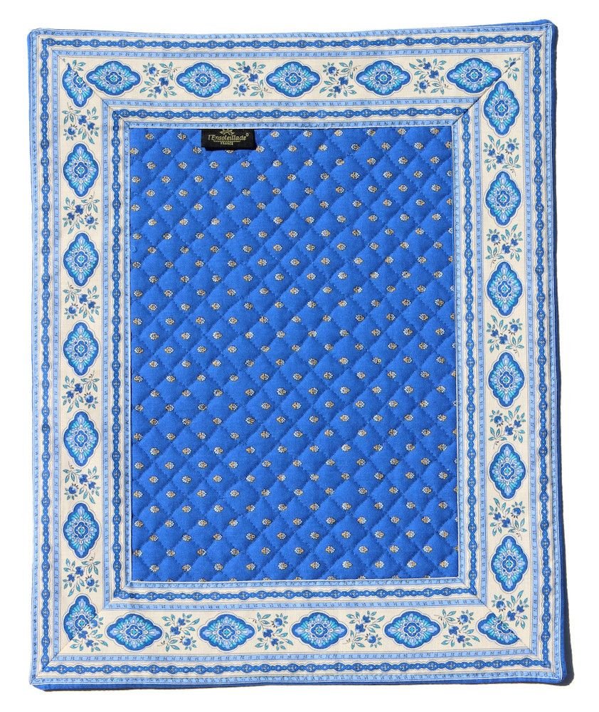french provencal place mat - front