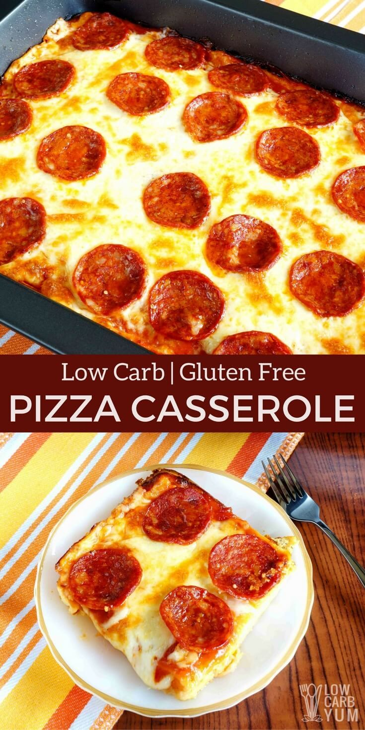 A Delicious Keto Low Carb Pizza Casserole That Will Be Enjoyed By