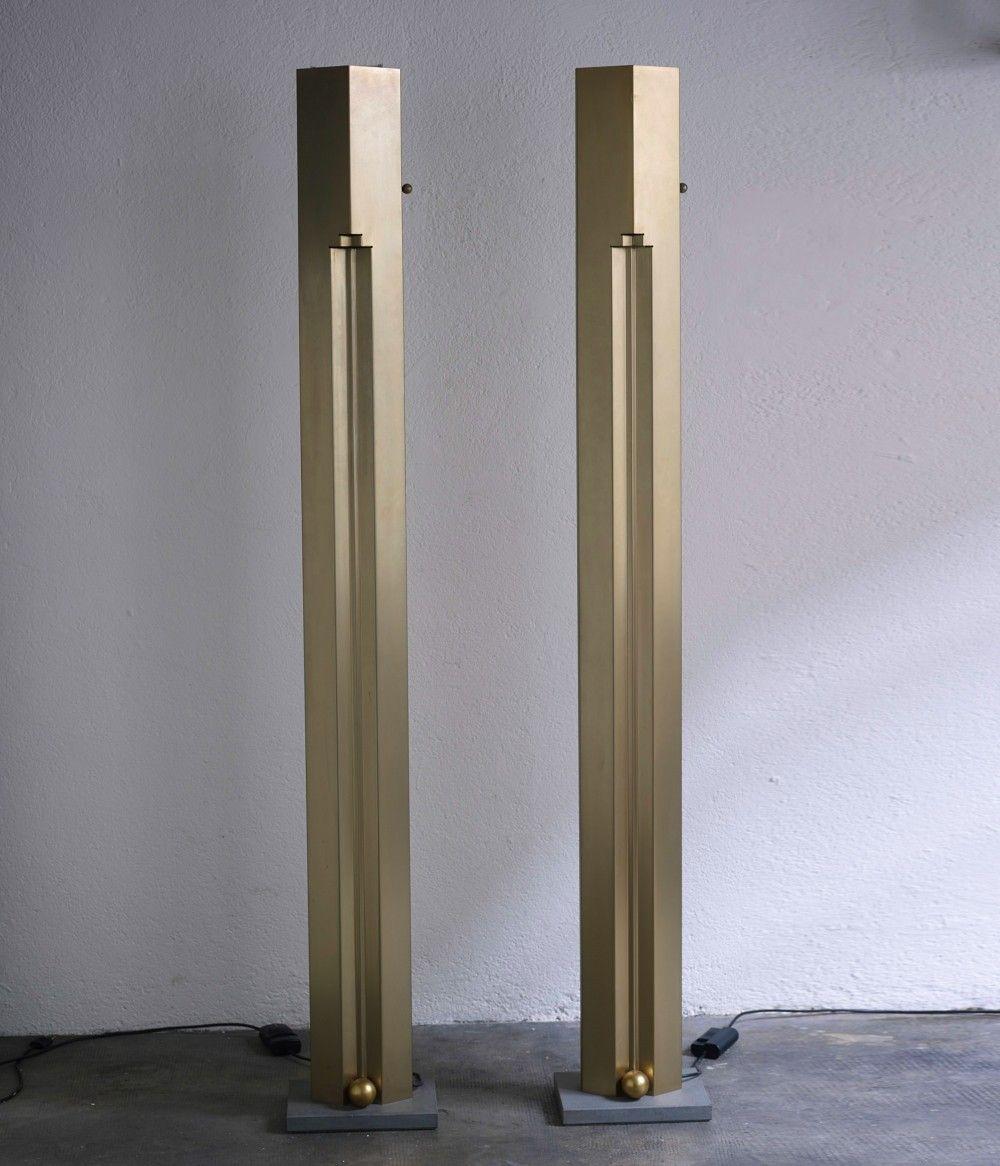 Totem Floor Lamp By Kazuhide Takahama For Sirrah Italy Floor Lamp Flooring Wall Lights