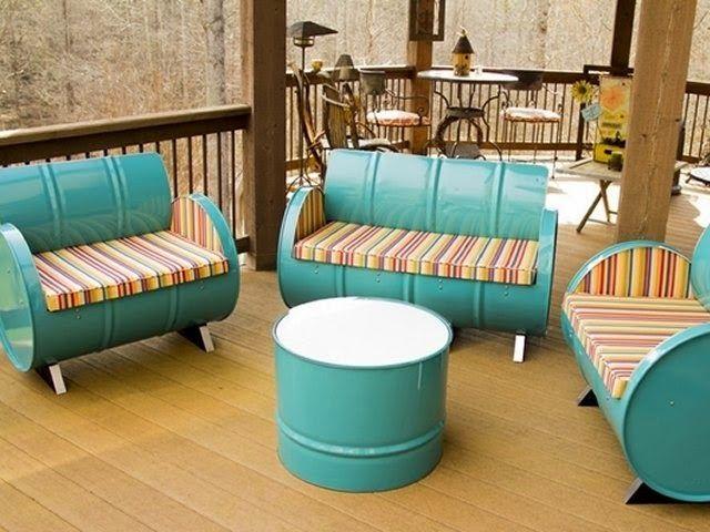 REVISTA DIGITAL APUNTES DE ARQUITECTURA Muebles con material - muebles reciclados