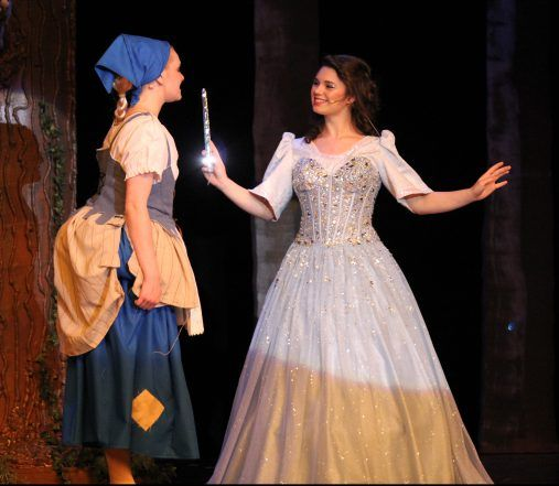 Cinderella Broadway Version Dressing Marie The Fairy Godmother Cinderella Broadway Cinderella Musical Fairy Godmother Costume