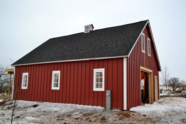 Best When We Make Mistakes Barn Update Barn Red Houses And 400 x 300