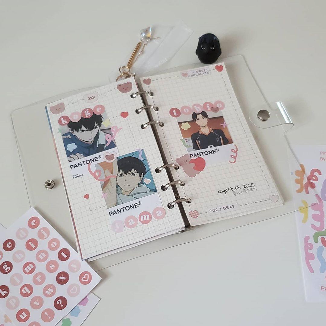 Tumblr Bullet Journal Ideas Pages Haikyuu Anime Kageyama