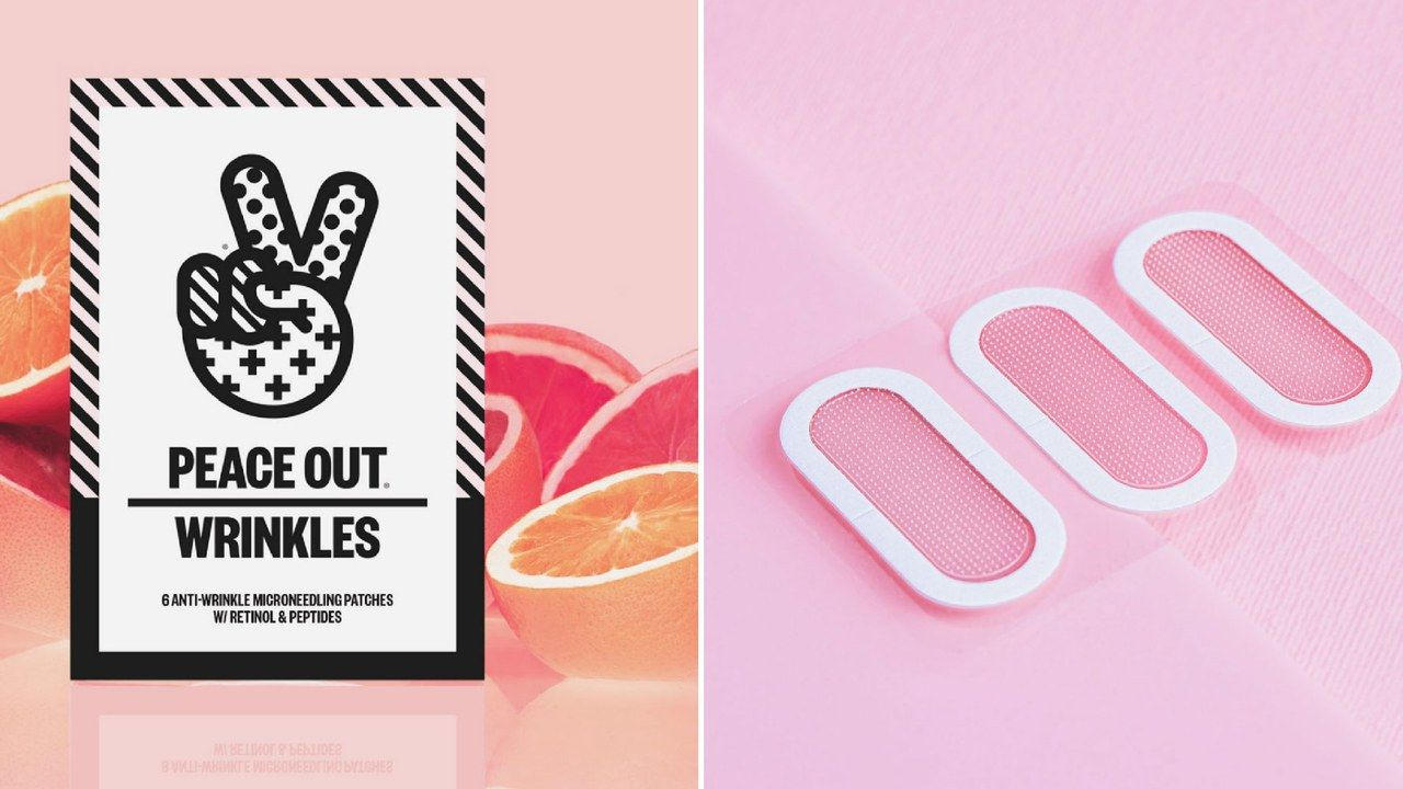 Peace Out Just Launched Patches to Treat Fine Lines and