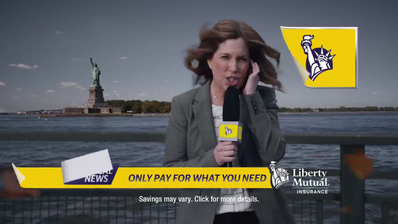 Liberty Mutual Insurance Reporting The Time Ad Commercial On Tv